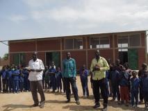 Przemowa dyrekcji szkoły