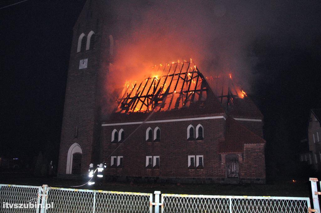 Podziękowanie za wsparcie po pożarze w Ciężkowie