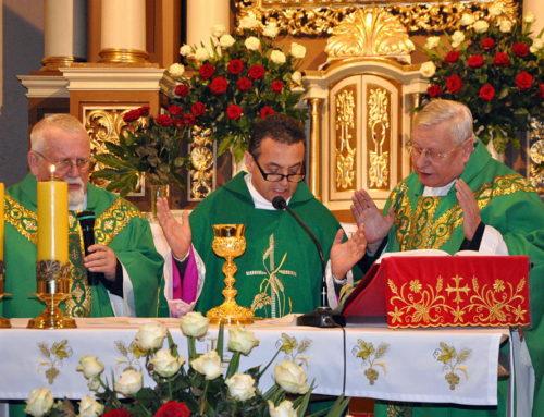 Biskup Carlos Alfredo Cabezas Mendoza w Szubinie