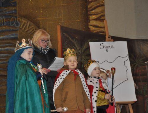 Dzieci apelowały o pokój w Syrii