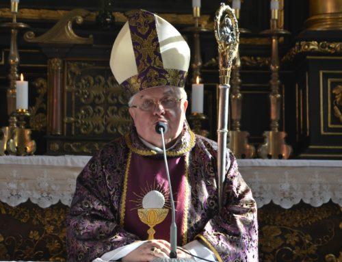 List biskupa bydgoskiego Jana Tyrawy na Wielki Post 2018