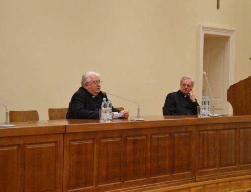 Ksiądz prof. Jan Krokos gościem bydgoskiego seminarium