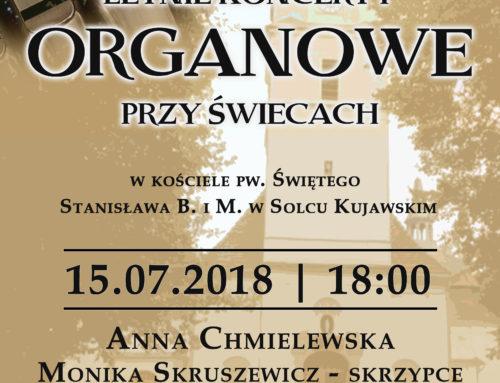 Letnie koncerty organowe w Solcu Kujawskim