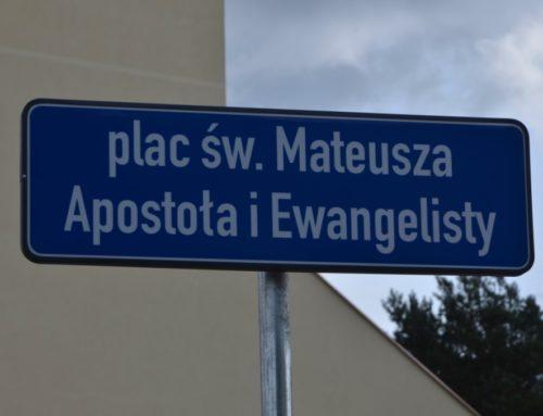 Poświęcenie placu św. Mateusza Apostoła i Ewangelisty