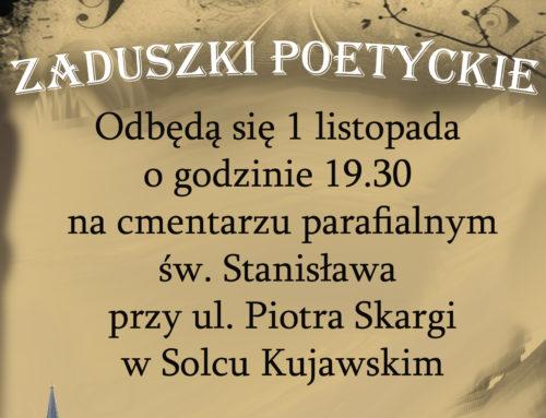 """""""Zaduszki poetyckie"""" w Solcu Kujawskim"""