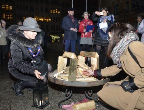 Betlejemskie Światło Pokoju w Bydgoszczy