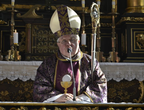 List biskupa bydgoskiego Jana Tyrawy na Wielki Post 2019