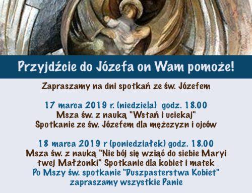 Trzy dni ze św. Józefem