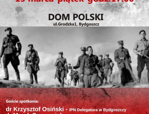 """Seminarium nt. """"Żołnierzy Wyklętych"""" w Domu Polskim"""