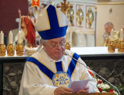 Homilia biskupa Jana Tyrawy – 3 maja – Katedra Bydgoska – 2019 r.