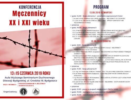 """Konferencja """"Męczennicy XX i XXI wieku"""""""