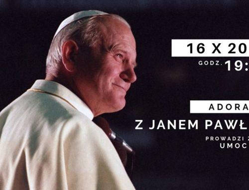 Adoracja ze św. Janem Pawłem II