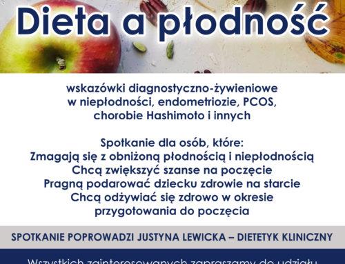 """Warsztaty """"Dieta a płodność"""""""