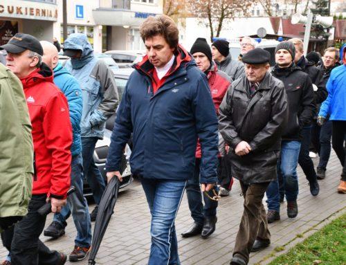 Męski różaniec przeszedł ulicami Bydgoszczy