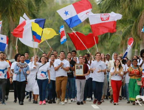 Przesłanie młodzieży diecezji bydgoskiej