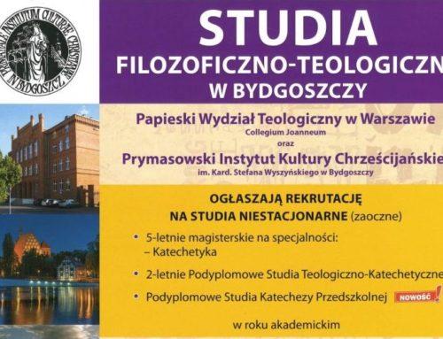 Prymasowski Instytut Kultury Chrześcijańskiej – REKRUTACJA