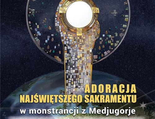 Monstrancja z Medjugorje w Bydgoszczy