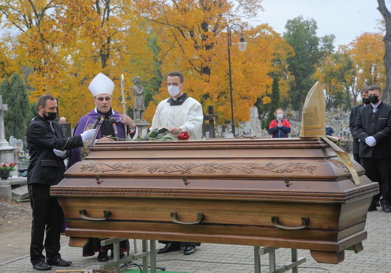 Uroczystości pogrzebowe śp. bp. Bogdana Wojtusia