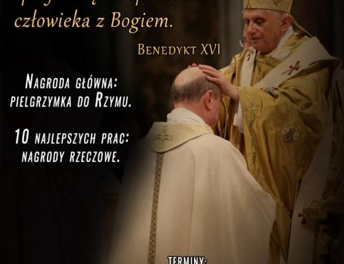 "Konkurs ""Liturgia Benedicta – wokół liturgii sakramentu święceń"""