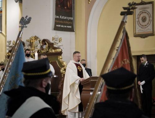 Kolejarze uczcili św. Katarzynę Aleksandryjską