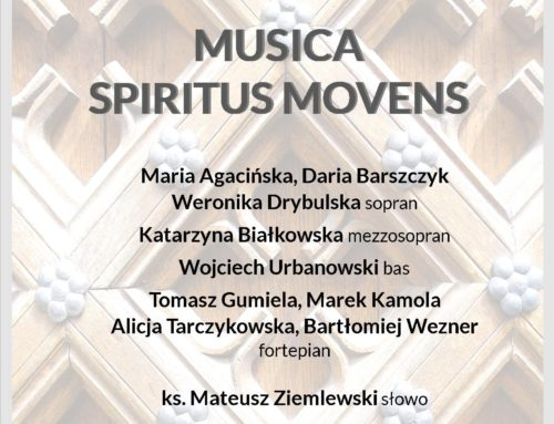 Musica Spiritus Movens – transmisja koncertu
