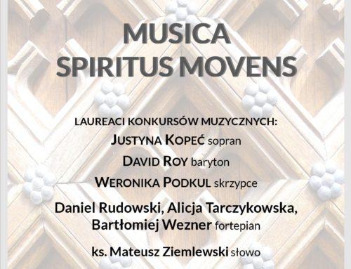Musica Spiritus Movens – TRANSMISJA