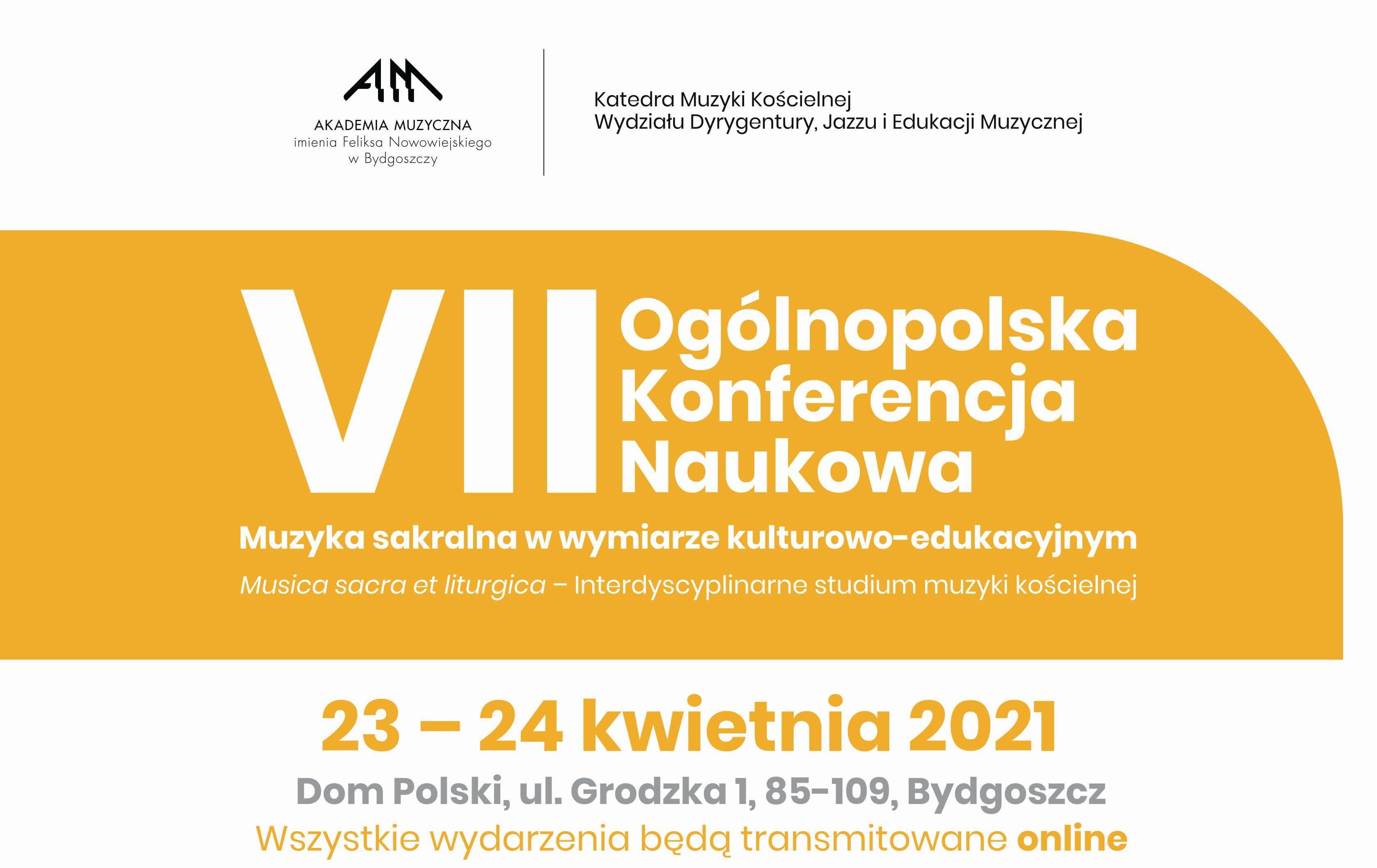 """Konferencja """"Muzyka sakralna w wymiarze kulturowo-edukacyjnym"""""""