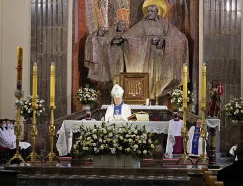 Homilia biskupa Jana Tyrawy – Bazylika Mniejsza św. Wincentego a Paulo w Bydgoszczy – 3 maja 2021 r.
