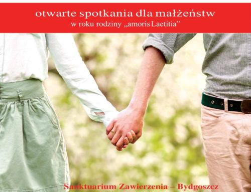 """""""Być bliżej siebie"""" – cykl spotkań dla małżeństw"""