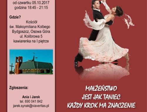 Katechezy przedmałżeńskie z nauką tańca