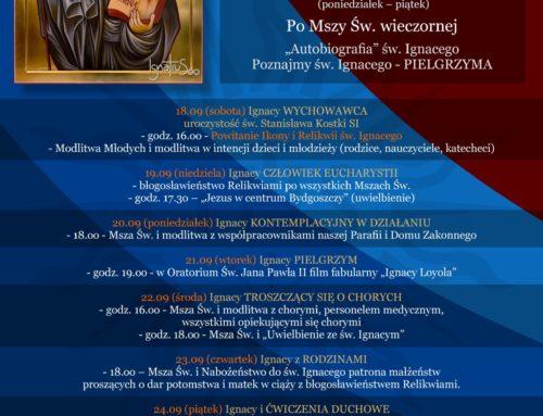Peregrynacja relikwii i ikony św. Ignacego Loyoli