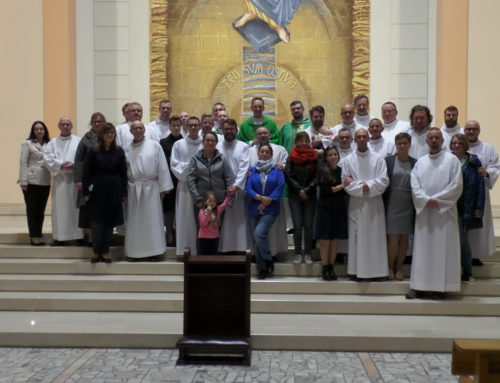 Inauguracja szkoły formacyjnej do posług stałych lektora i akolity